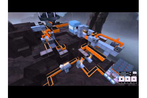 Infinifactory - Small excavator - YouTube