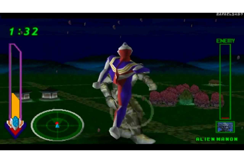 Ultraman Tiga & Ultraman Dyna:New Generations PS1 (Part 9 ...