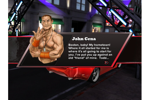 No, Really: WWE Releases New Street Racing Game, 'John ...