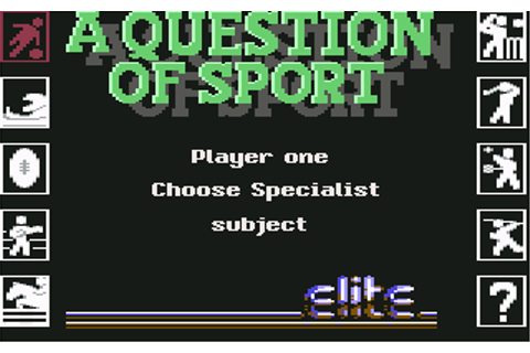 Download A Question of Sport - My Abandonware