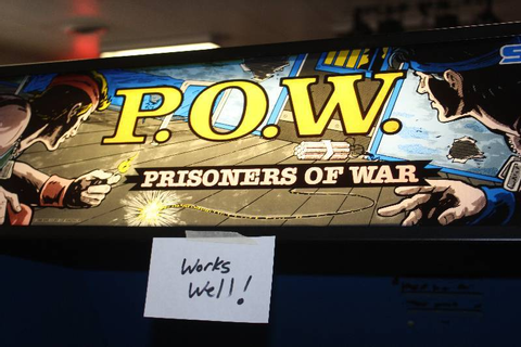 P.O.W. - Prisoners of War Arcade Game | Maple Lake Video ...