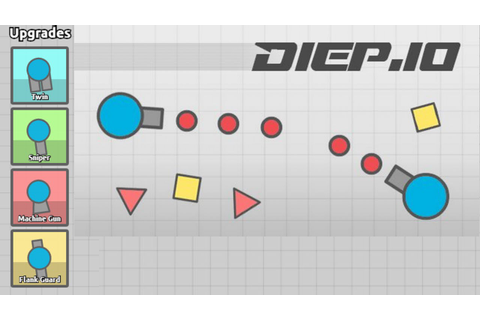 NEW DIEP.IO GAME - Agar.io With Tanks - Diep.io Gameplay ...