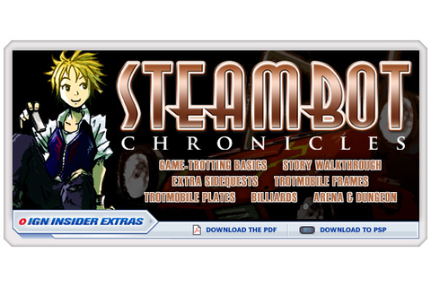 Steambot Chronicles - ps2 - Walkthrough and Guide - Page 2 ...