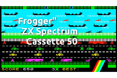 Frogger (ZX Spectrum Cassette 50 Game 4) - YouTube