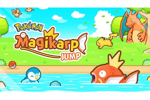 New Pokemon game 'Magikarp Jump' is unlike any game before ...