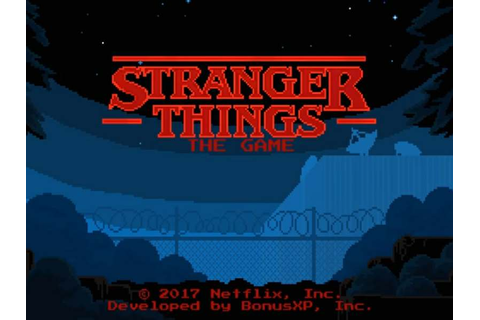 Stranger Things The Game Looking Totally Retro - Retroheadz