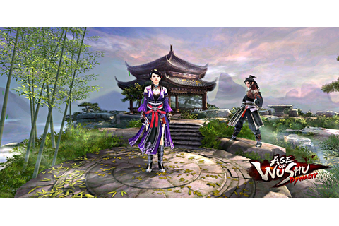 The world inside the Age of Wushu MMORPG for PC will be ...