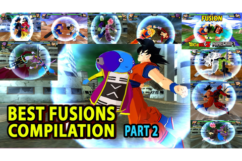 Dragon Ball Best Fusion Compilation PART 2 | BEST DBZ ...