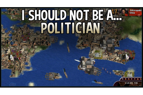 I Should Not Be A Politician (Masters Of The World ...