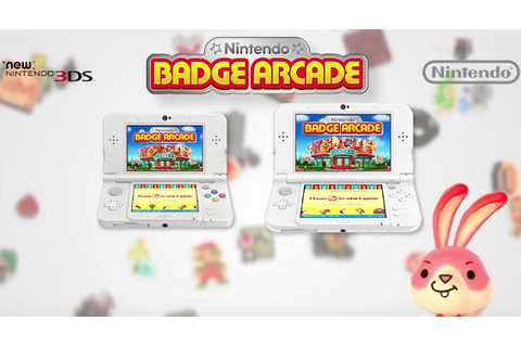 Female-Gamers - Review: Nintendo Badge Arcade (3DS)