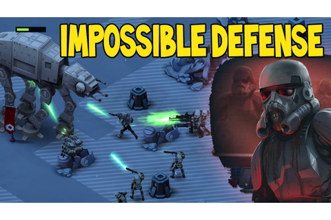 UNDEAD TROOPERS? IMPOSSIBLE HEROIC DEFENSE!! | Star Wars ...