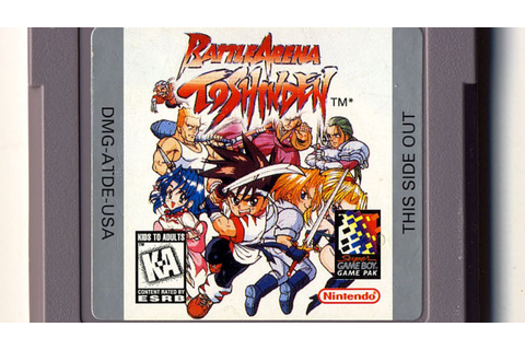 Classic Game Room HD - BATTLE ARENA TOSHINDEN for Game Boy ...
