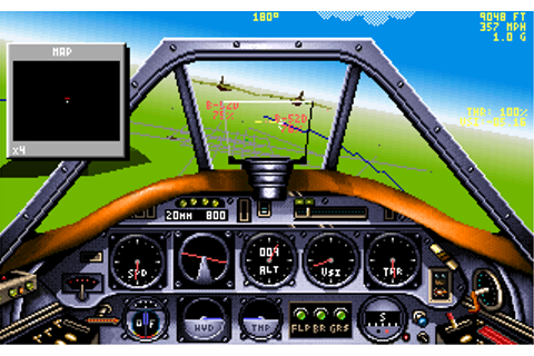 Chuck Yeagers Air Combat (1991)(Electronic Arts Inc) Game
