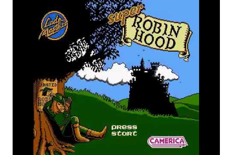 Super Robin Hood NES - Completed Game - YouTube