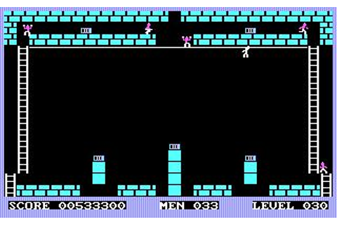 Championship Lode Runner Download (1984 Arcade action Game)