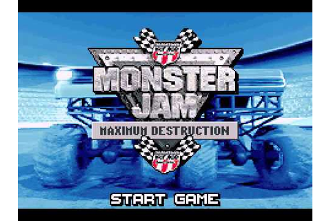 [Game Boy Advance] Monster Jam - Maximum Destruction ...