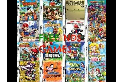 How to download and put nintendo ds games on ds/dsi/3DS ...