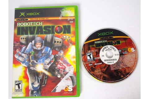 Robotech Invasion game for Xbox | The Game Guy