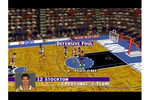 NBA Live 96 (Hitmen Productions) (MS-DOS) [1996] - YouTube