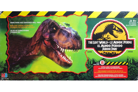 The Lost World Jurassic Park Game | Board Game | BoardGameGeek