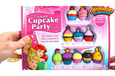 Disney Princess Cupcake Party Game! - YouTube