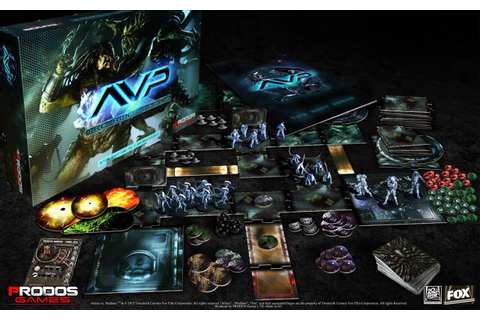 Alien Vs Predator Board Game The Hunt Begins Alien, Board ...
