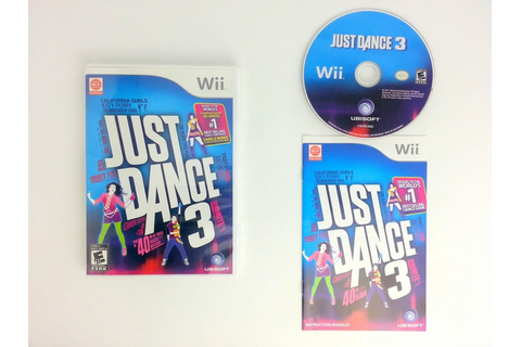 Just Dance 3 game for Wii (Complete) | The Game Guy