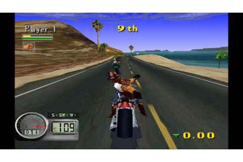 Road Rash 3D (PSX) HD - YouTube