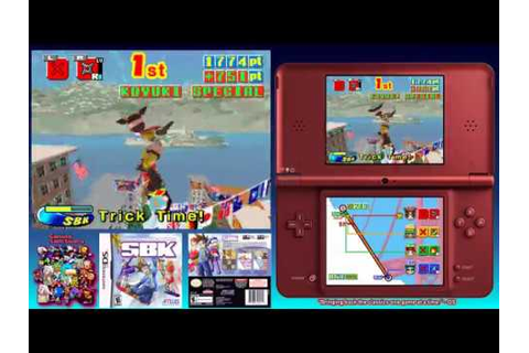 SBK: Snowboard Kids Game Sample - DS - YouTube