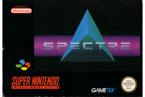 Spectre for SNES (1994) - MobyGames