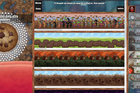 The cult of the cookie clicker: When is a game not a game ...