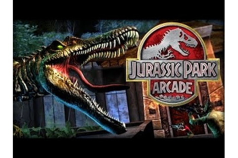 Jurassic Park Arcade™ 2015 Full Game - YouTube