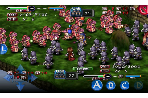 Generation of Chaos PSP Android Screenshots, capture d ...