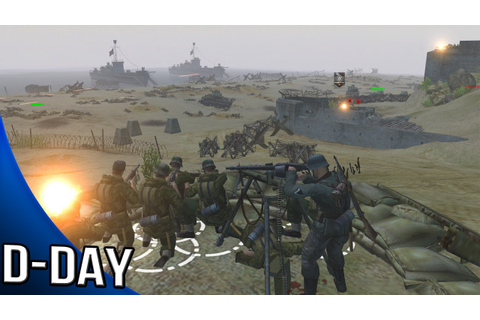 Men of War Assault Squad 2 - D Day Gameplay - YouTube
