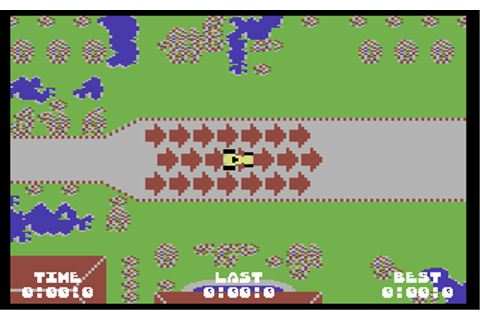 Rally Speedway - Commodore 64 Game / C64 Games, C64 ...