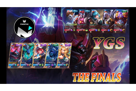 NXP PREDATOR SOLID VS YGS GAME 2 ASTRAL TOURNAMENT ...