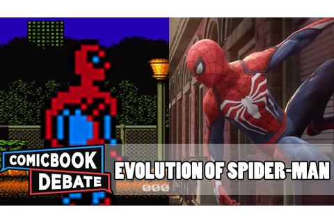 Evolution of Spider-Man Games in 9 Minutes (2017) - YouTube