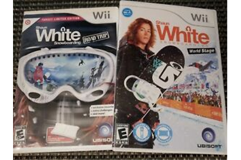Shaun White Snowboarding: Road Trip & World Stage Nintendo ...