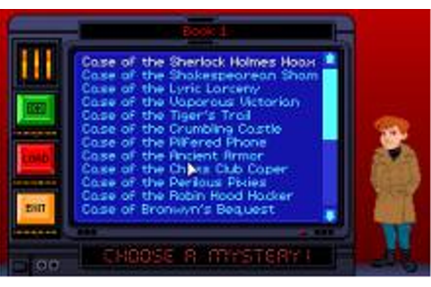 Eagle Eye Mysteries in London Download (1994 Educational Game)