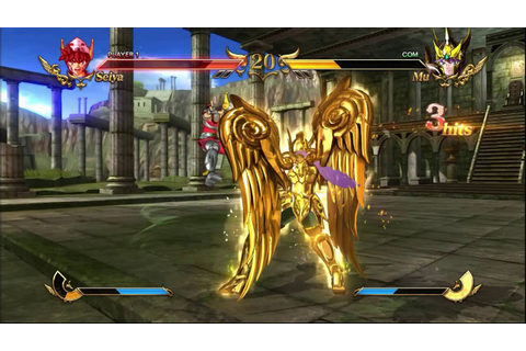 Saint Seiya Soldiers Soul GAMEPLAY (PC) - YouTube