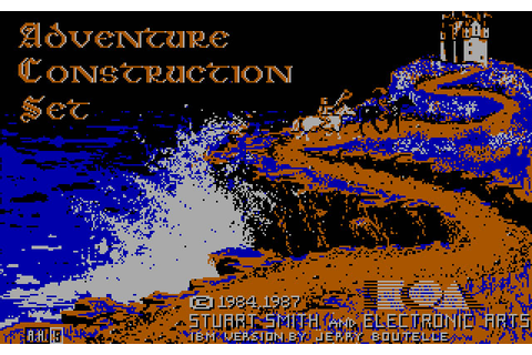 Download Adventure construction set rpg for DOS (1987 ...