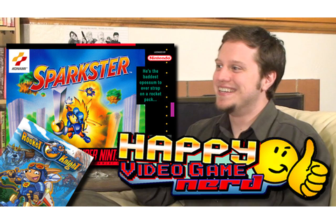 Happy Video Game Nerd: Sparkster / Rocket Knight (Part 2 ...