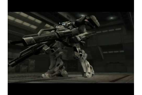 Armored Core Last Raven - White Glint build - YouTube