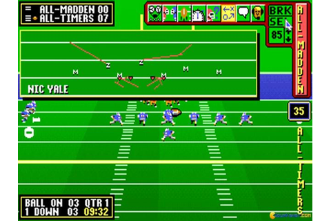 John Madden Football II (1991) - PC Game