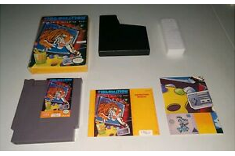 Videomation CIB Complete in Box Nintendo NES Free Shipping ...