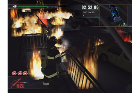 All Firefighter F.D.18 Screenshots for PlayStation 2