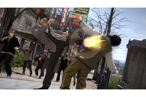 Break Some Faces with Over an Hour of English Yakuza 5 ...