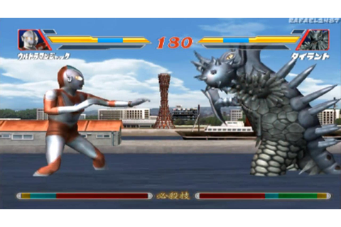 Ultraman Fighting Evolution 2 (Ultraman Jack) vs (Tyrant ...