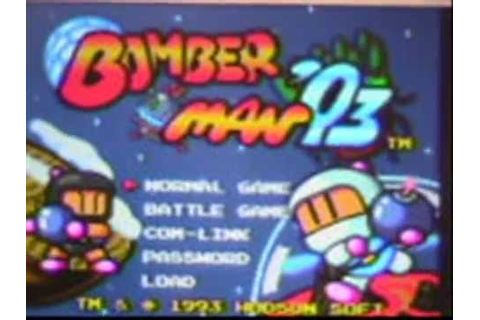 Bomberman '93 Turbografx or Nintendo Wii Review - YouTube