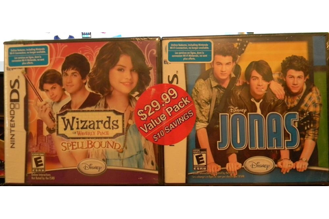Brand New Sealed Disney JONAS & Wizards of Waverly Place ...